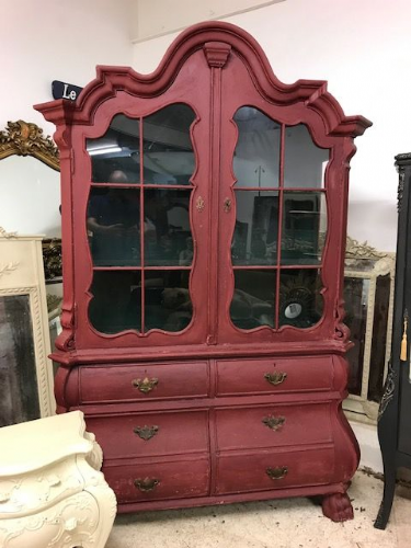 SOLD - Impressive German Display Cabinet -  sd11